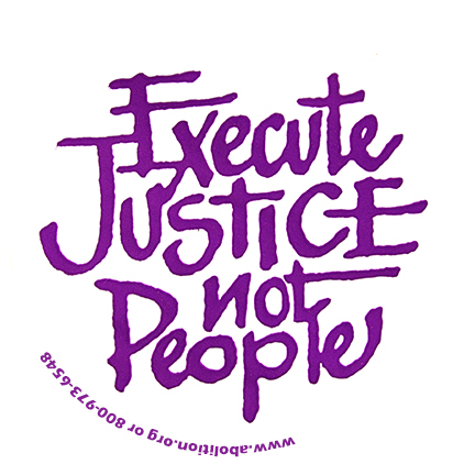 Execute-Justice-Not-People-Sticker